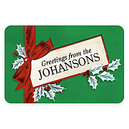 Weather Guard™ 7.5-Inch x 26.5-Inch Greeting Card Door Mat