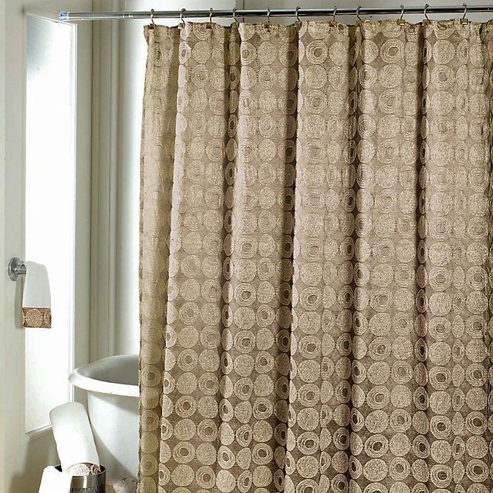 604cf091ed4 Avanti Galaxy Shower Curtain in Gold