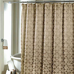Avanti Galaxy Shower Curtain in Gold