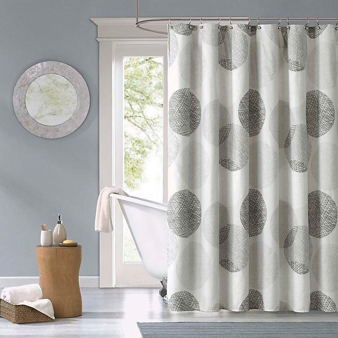 Alternate image 1 for Madison Park Essentials Knowles Shower Curtain