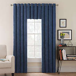 Morgan Corduroy Window Curtain Panel and Valance