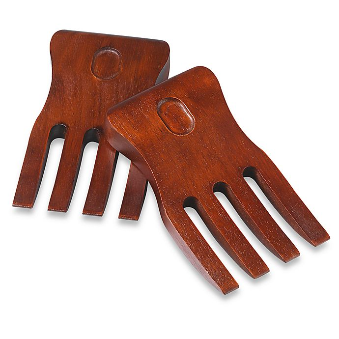 Alternate image 1 for Lipper International Cherry Finish Salad Hands