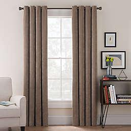 Morgan Corduroy Window Curtain Panel and Valance