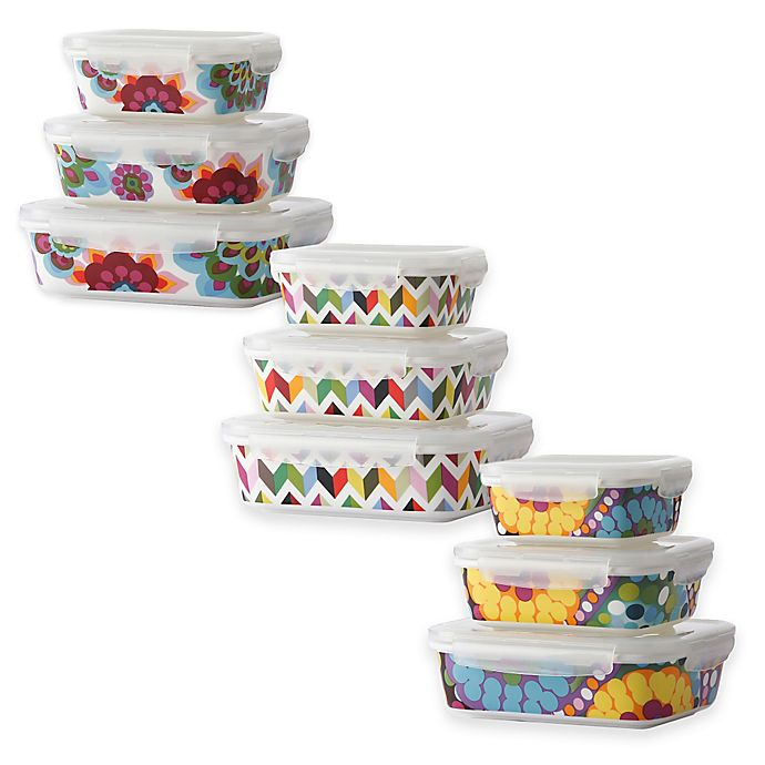Alternate image 1 for French Bull® Porcelain Storage Containers (Set of 3)