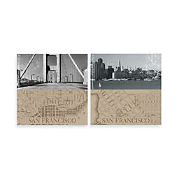 Thirstystone® San Francisco Coasters (Set of 4)