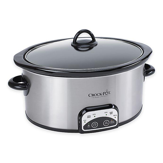 Alternate image 1 for Crock-Pot® 4 qt. Smart-Pot Digital Slow Cooker