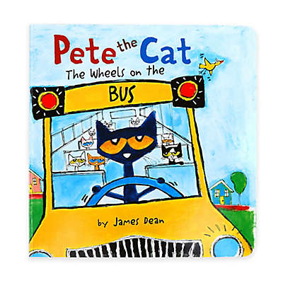 """""""Pete the Cat: The Wheels on the Bus"""" Book by James Dean"""