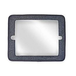 JJ Cole® 2-in-1 Headrest Car Back Seat Mirror with Grey Heather Frame