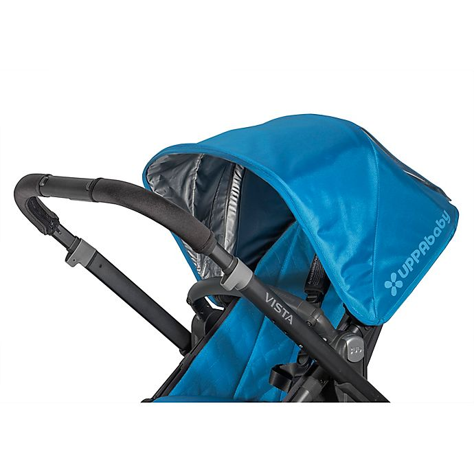 Alternate image 1 for UPPAbaby® VISTA® Handlebar Cover in Black (Set of 2)