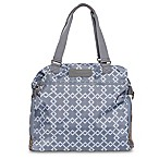 Sarah Wells® Lizzy Breastpump Bag in Grey Chain Link