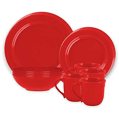 Emile Henry Dinnerware Collection in Burgundy