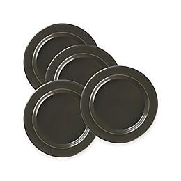 Emile Henry Salad Plates in Charcoal (Set of 4)