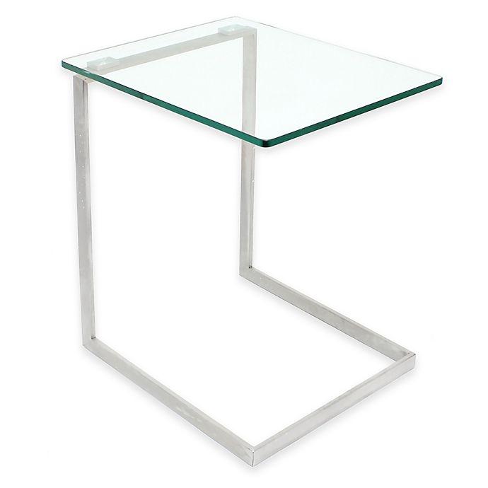 Alternate image 1 for LumiSource® Zenn Glass End Table
