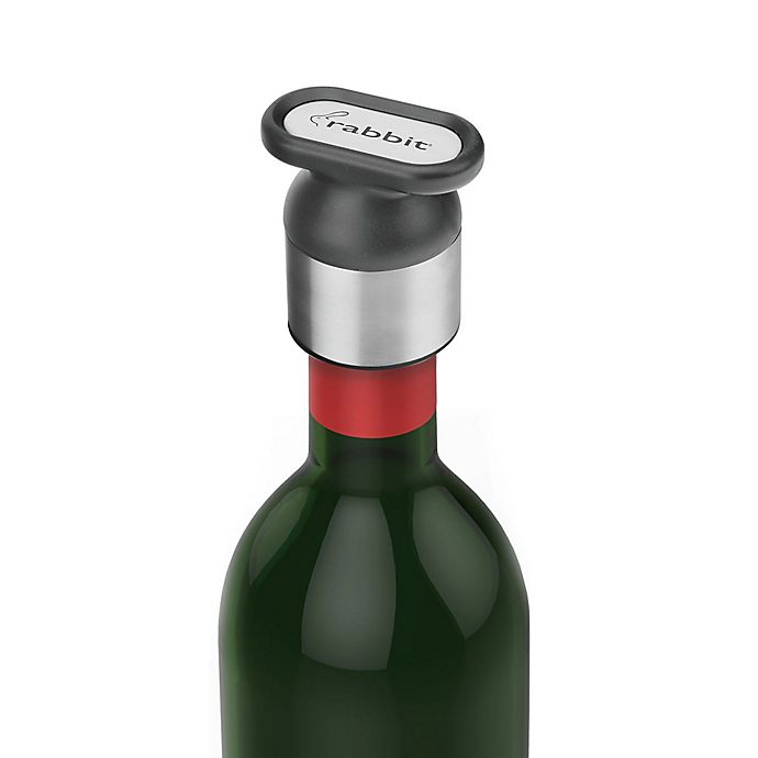 Alternate image 1 for rabbit® Stainless Steel Wine/Champagne Sealer