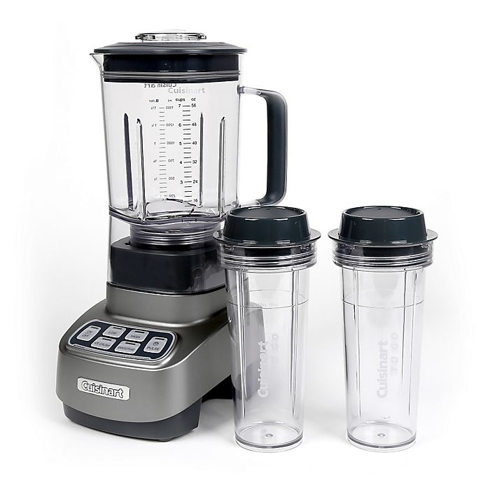 Alternate image 1 for Cuisinart® Velocity Ultra 1 HP Blender with 2 Travel Cups
