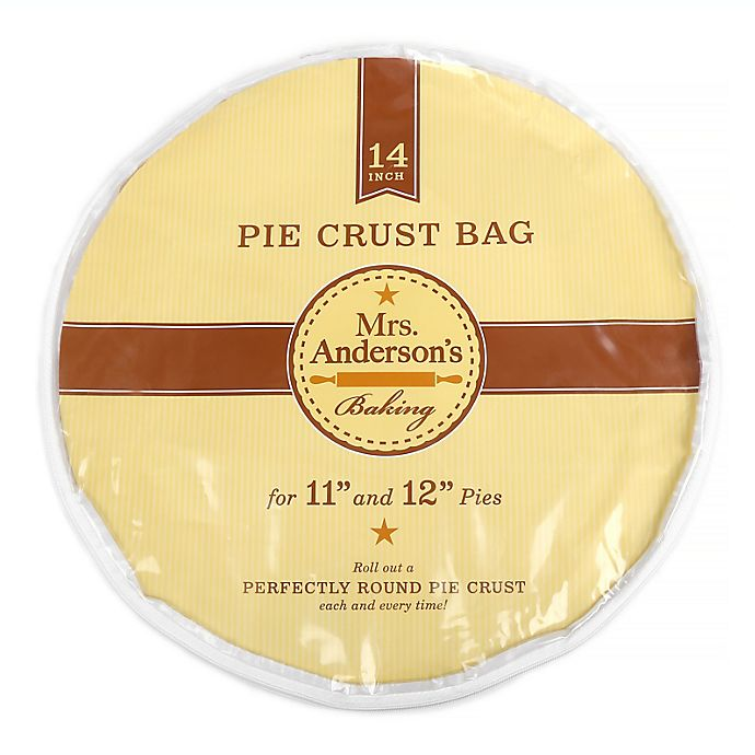Alternate image 1 for Mrs. Anderson's Baking Easy No-Mess 14-Inch Pie Crust Maker Bag