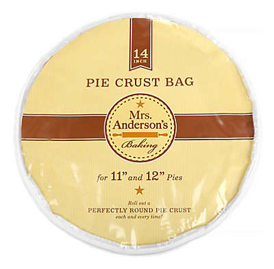 Mrs. Anderson's Baking Easy No-Mess 14-Inch Pie Crust Maker Bag