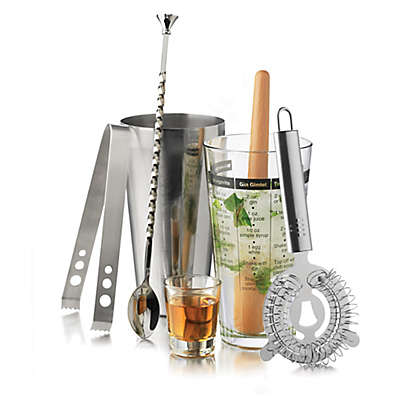 Libbey® Glass Modern Bar 7-Piece Cocktail Mixologist Set