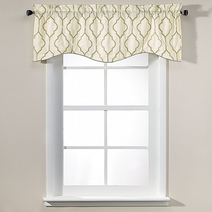 Alternate image 1 for Sissani 17-Inch Lined Window Valance
