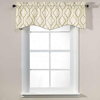 Sissani 17-Inch Lined Window Valance
