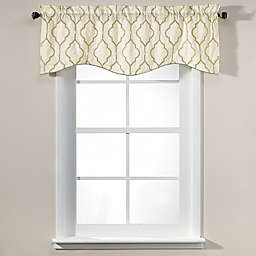 Sissani 17-Inch Lined Window Valance