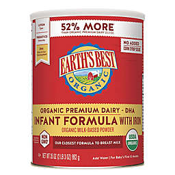 Earth's Best® Organic 35 oz. Infant Formula with DHA & ARA and Iron