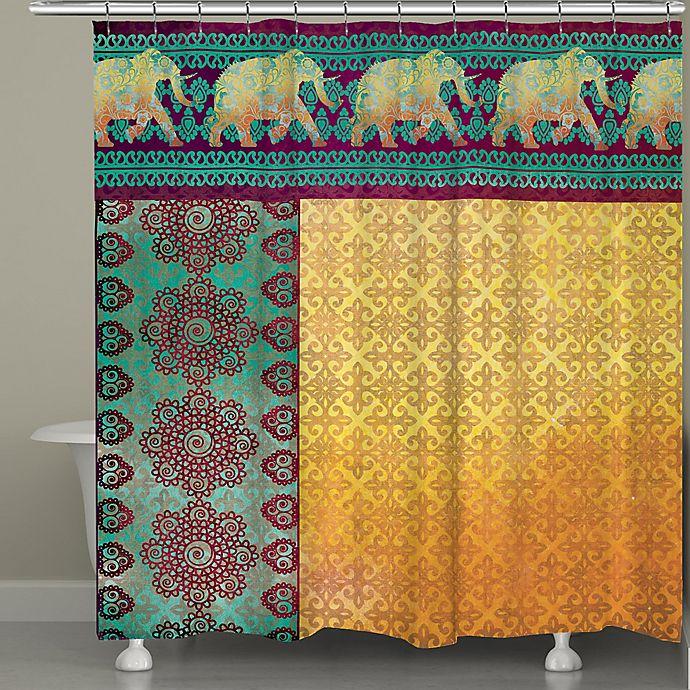Alternate image 1 for Laural Home® Marrakesh Shower Curtain
