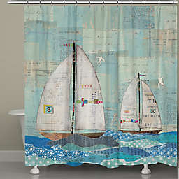 Laural Home® At the Regatta Shower Curtain