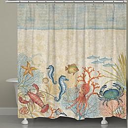 Laural Home® Oceana Shower Curtain