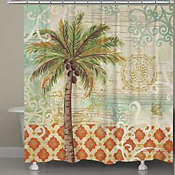 Laural Home Reg E Palms Shower Curtain