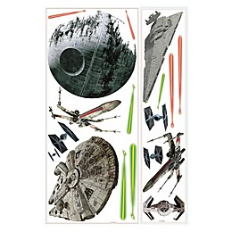 Disney® Star Wars™ Classic Spaceships Peel and Stick Wall Decals
