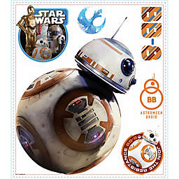 """Disney® Star Wars™ """"The Force Awakens"""" BB-8 Peel and Stick Wall Decals"""