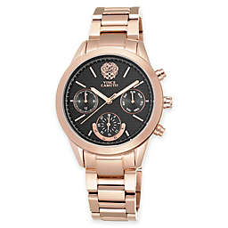 Vince Camuto Ladies' 38mm Multifunction Dial Bracelet Watch in Rose Goldtone Stainless Steel