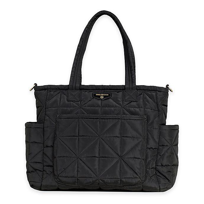 Alternate image 1 for TWELVElittle Carry Love Tote Diaper Bag in Black