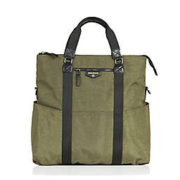 TWELVElittle Unisex 3-in-1 Foldover Tote Diaper Bag