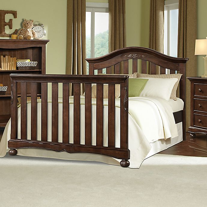 Westwood Design Meadowdale Full Size Bed Rails In Madeira Bed Bath