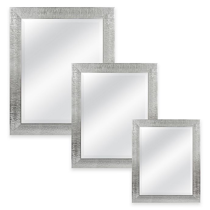 Alternate image 1 for Rocco Rectangular Mirror in Silver
