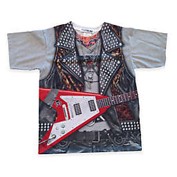 Faux Real Photorealistic Rockstar Short Sleeve T-Shirt