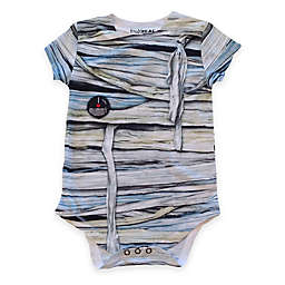 Faux Real Photorealistic Mummy Short Sleeve Bodysuit