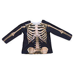 Faux Real Photorealistic Skeleton Long Sleeve T-Shirt