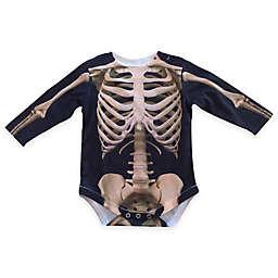 Faux Real Photorealistic Skeleton Long Sleeve Bodysuit