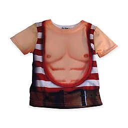 Faux Real Photorealistic Strongman Short Sleeve T-Shirt