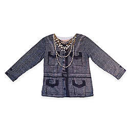 Faux Real Photorealistic Houndstooth Jacket Long Sleeve T-Shirt