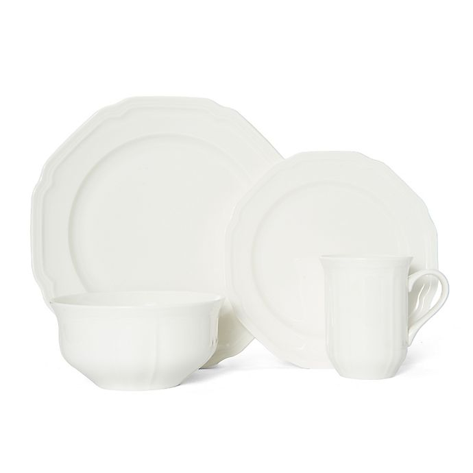 Alternate image 1 for Mikasa® Antique White 4-Piece Place Setting