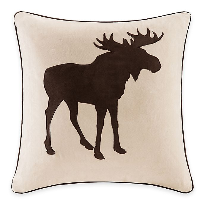 Alternate image 1 for Madison Park Moose Square Throw Pillow
