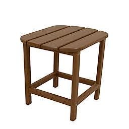 POLYWOOD® Folding Adirondack Side Table in Teak