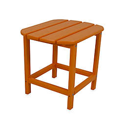 POLYWOOD® Folding Adirondack Side Table in Tangerine