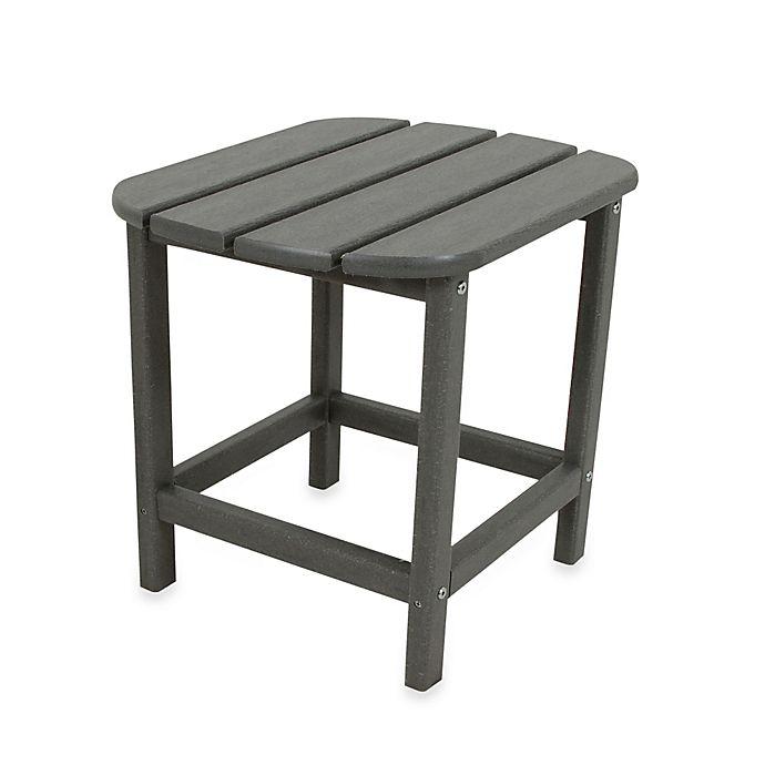 Alternate image 1 for POLYWOOD® Folding Adirondack Side Table in Slate Grey