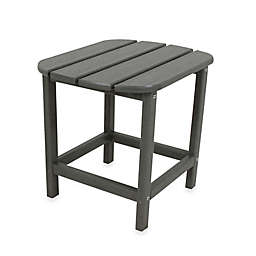 POLYWOOD® Folding Adirondack Side Table in Slate Grey