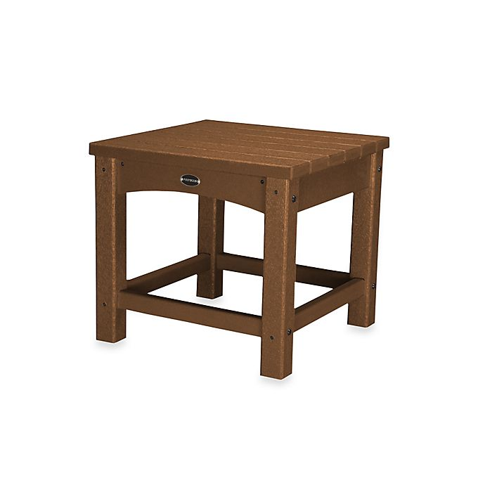 Buy Polywood 174 Club Side Table In Teak From Bed Bath Amp Beyond